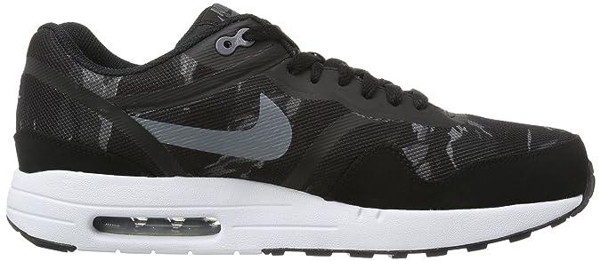 new style 792c2 fce90 Amazon.com   Nike Men s Air Max 1 PRM Tape Black Cool Grey Black White  Running Shoes 12 Men US   Road Running