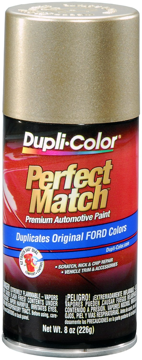 Dupli-Color (EBFM03657-6 PK) Harvest Gold Ford Exact-Match Automotive Paint - 8 oz. Aerosol, (Case of 6)