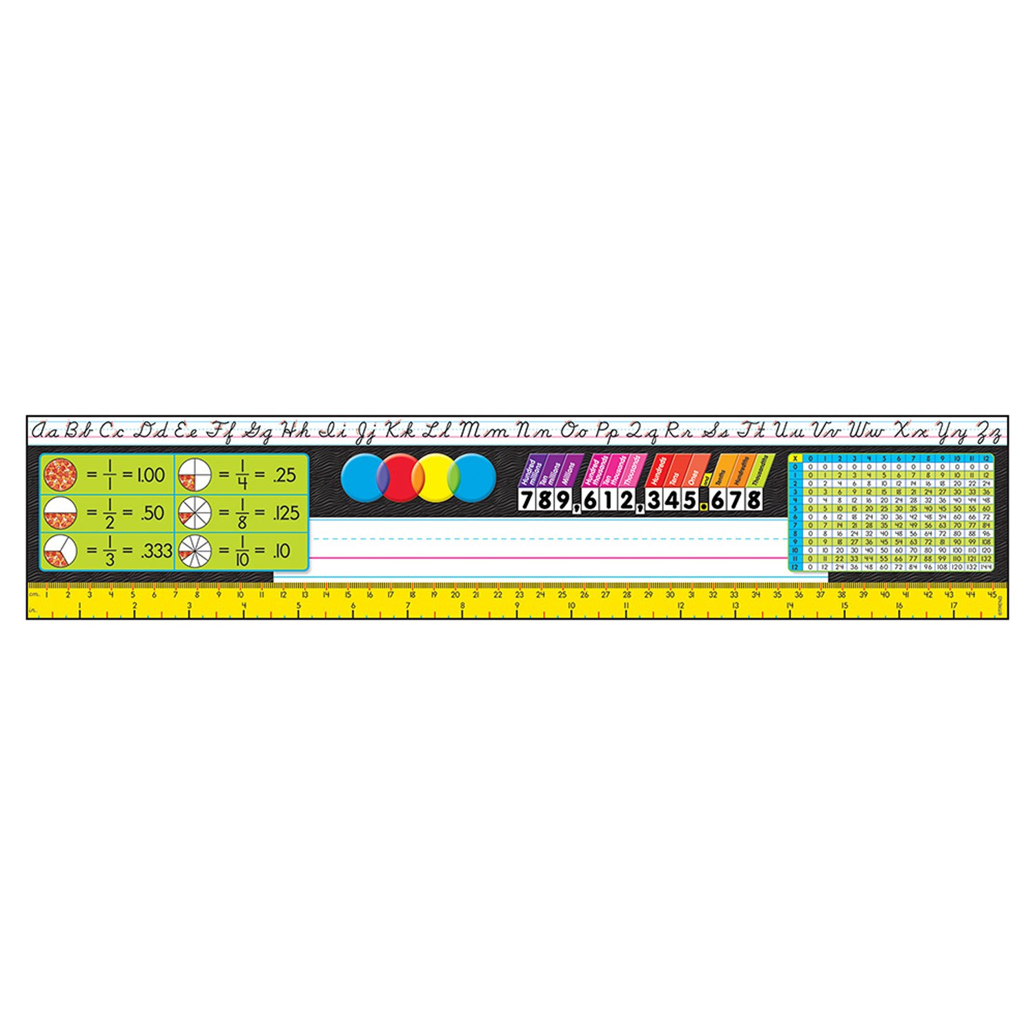 Grades 3-5 Desk Toppers® Reference Name Plates (Modern)