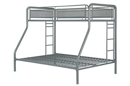 Amazon DHP Rockstar TwinFull Bunk Bed Silver Kitchen Dining Adorable Rockstar Bedroom Model