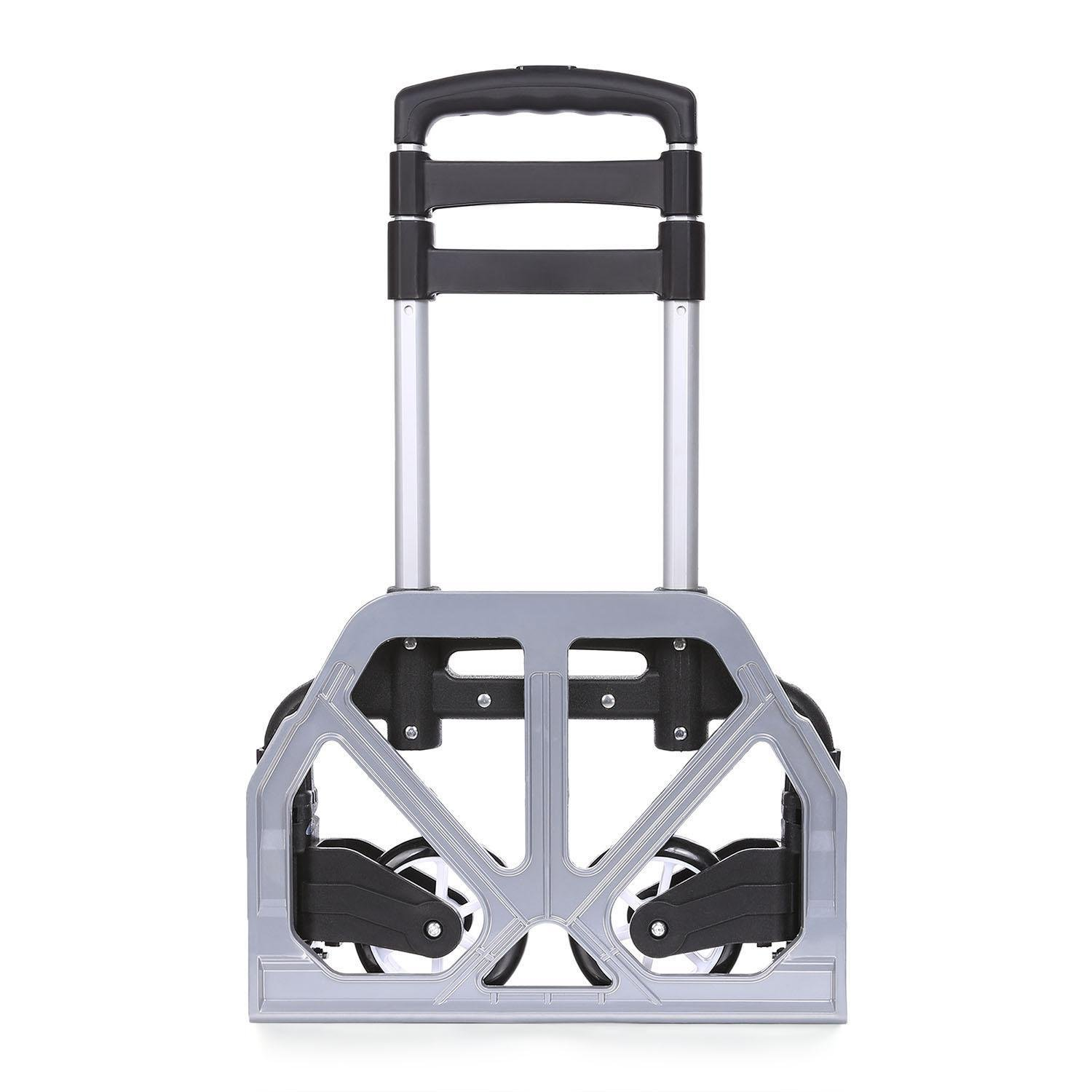 (US Stock) Keland Foldable Lightweight Hand Truck, Portable Aluminum Small Hand Trucks,150lbs Capacity Mini Hand Truck with Arm Handle for Industrial/Travel/Shopping by Keland (Image #6)