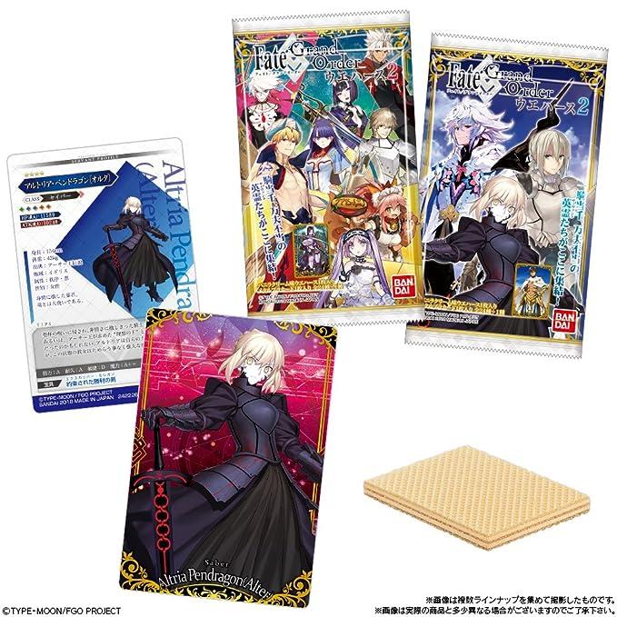 Fate Grand Order Full Cast Character Wafer Plastic CardBlind Display Case  20 PCS ANime Art