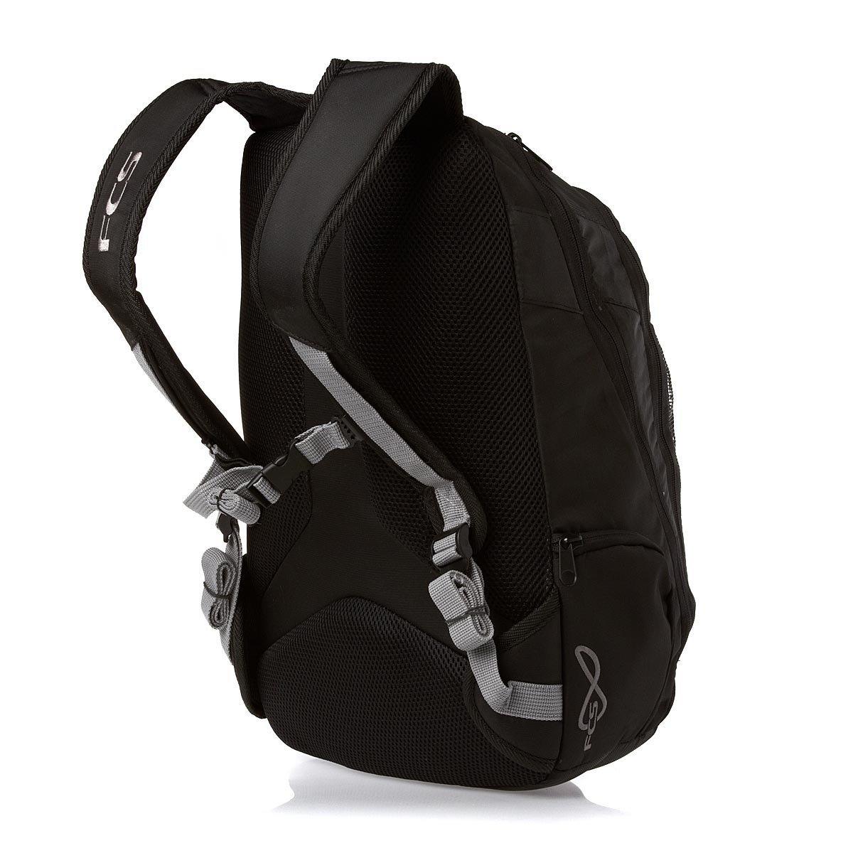 2aa75cd1345f2 Amazon.com  FCS IQ Surf Backpack One Size Black  Sports   Outdoors