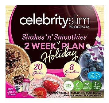 Celebrity Slim 2 Week Holiday Plan