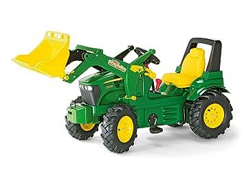 Schneider Novus 71 012 6 J. Deere 7930 - Tractor miniatura con neumáticos, transmisión