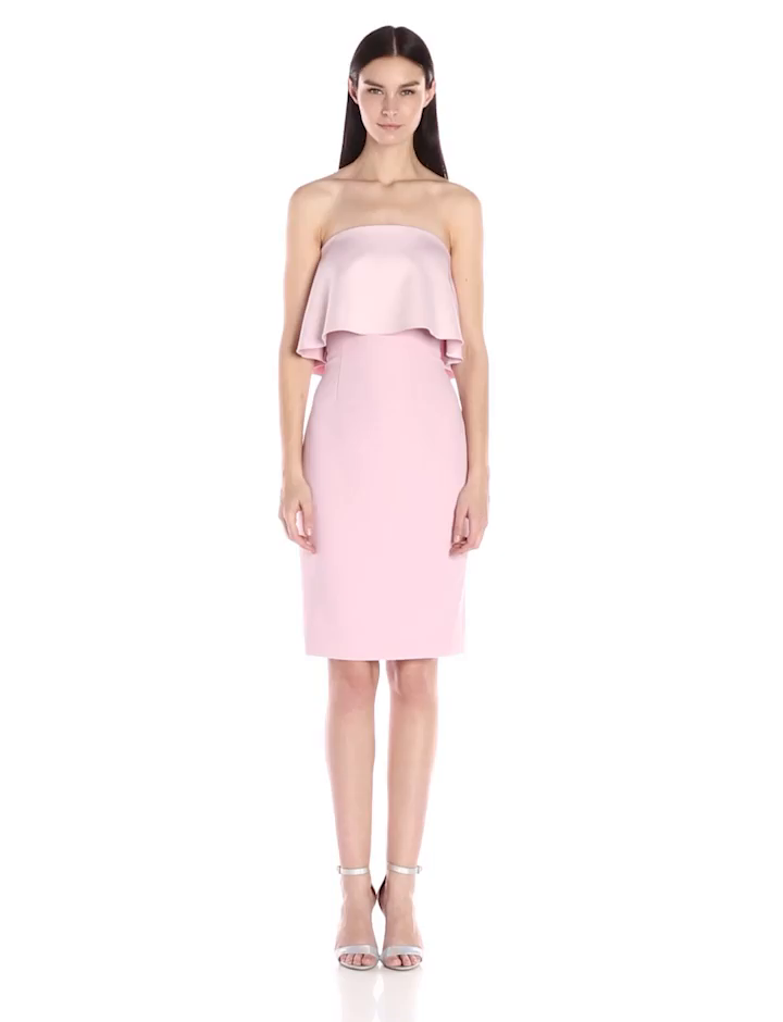 2898b1e1e838 Amazon.com: Cynthia Rowley Women's Colmun Bonded Dress: Clothing