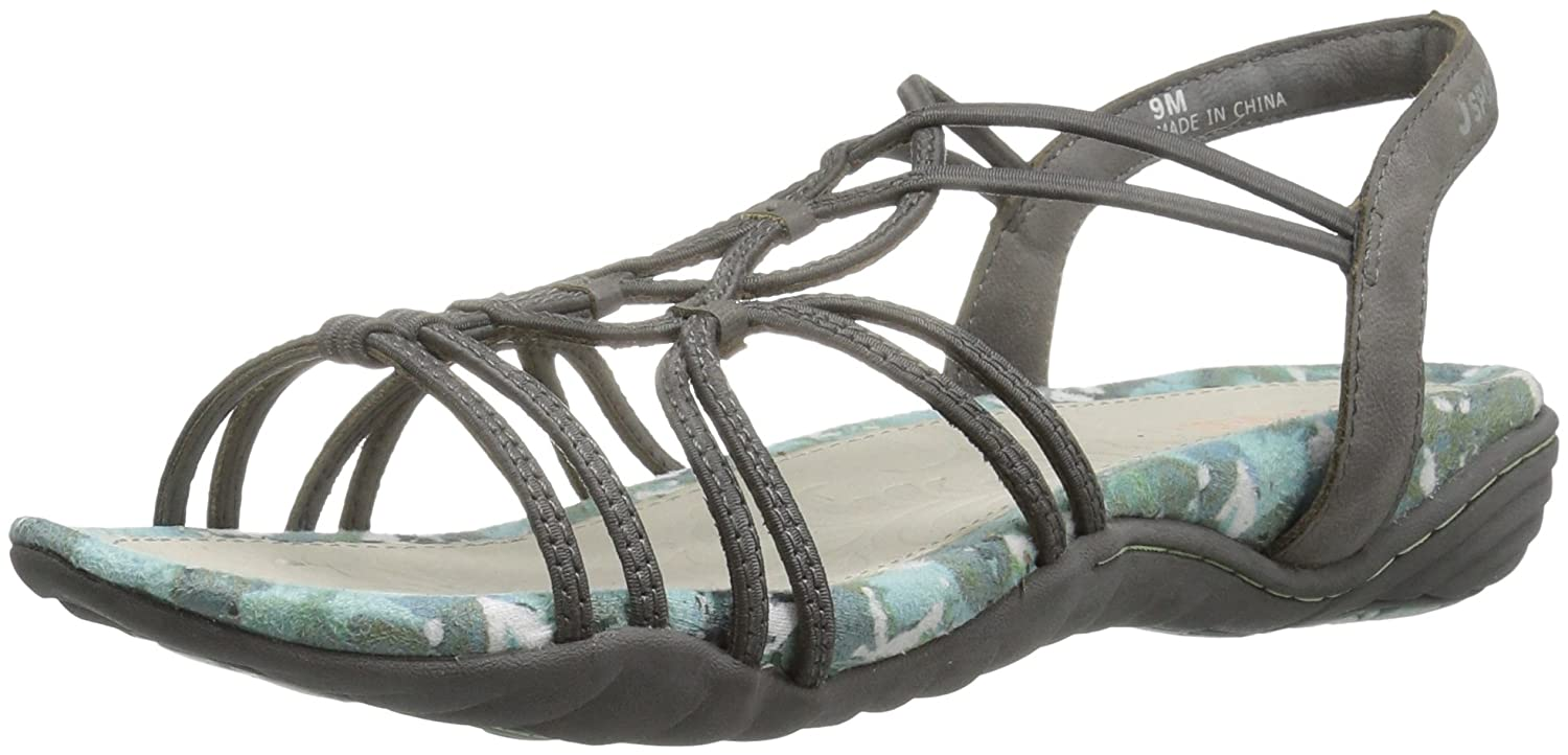 b9494e7a0eb JSport by Jambu Women s April Gladiator Sandal - Casual Women s Shoes