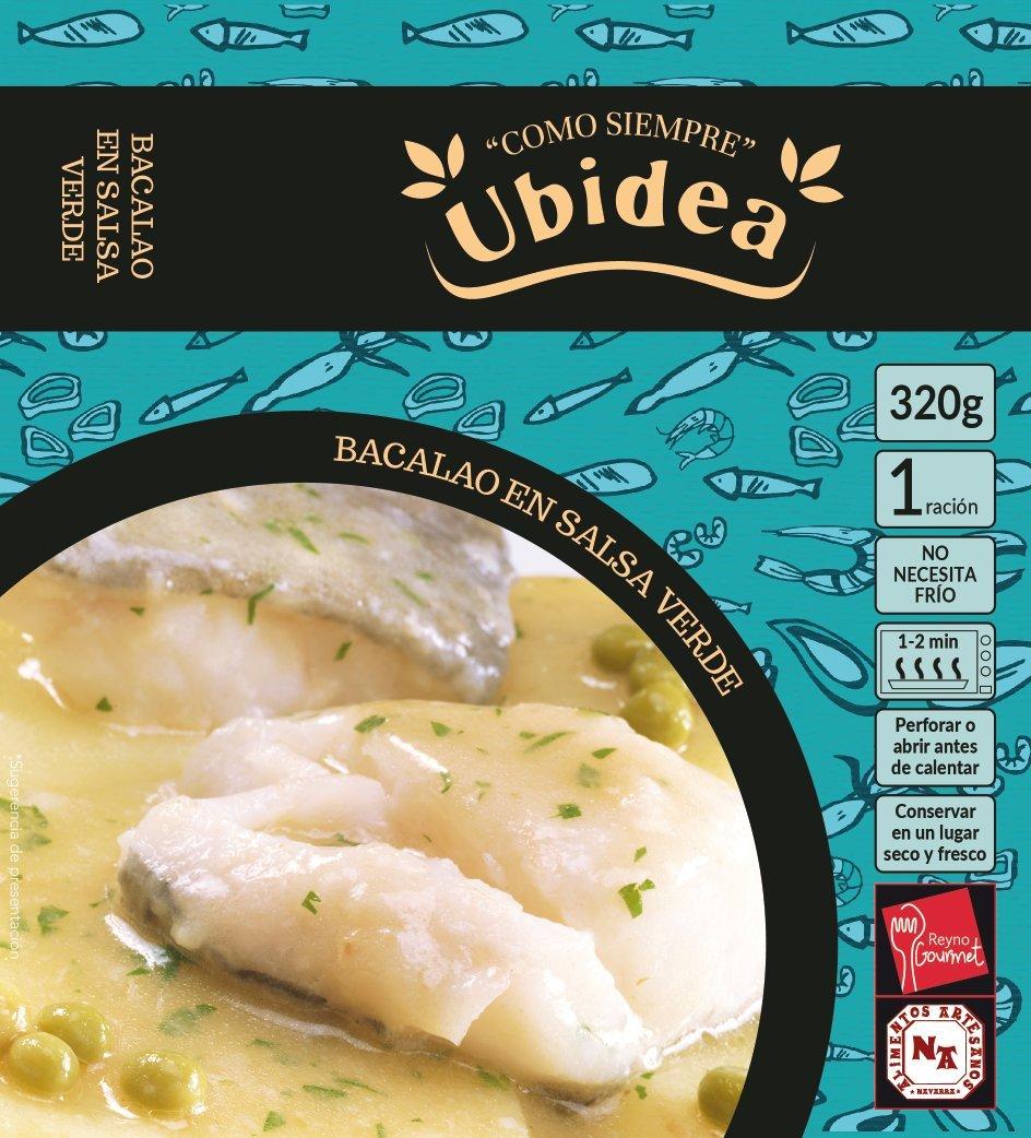 Bacalao en Salsa Verde - Ubidea - 3 platos: Amazon.es: Alimentación y bebidas