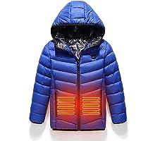 HGYJ Chalecos Calefactable,Chalecos para Niños con Calefacción USB, Chaquetas con Calefacción Lavables para Otoño e…