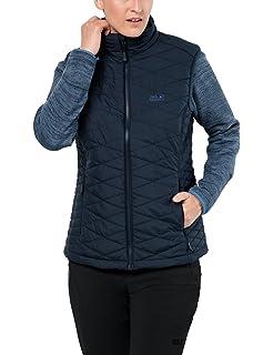 a29706be65f Jack Wolfskin Women's Aquila Glen 3-IN-1 Windproof Fleece & Vest Combination
