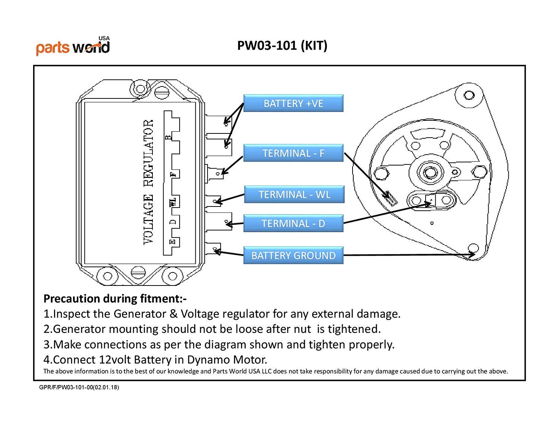 12V Generator /& Voltage Regulator KIT Ford 2000 3000 4000 5000 7000 8000 9000501 601 701 801 901 series tractor NEW HOLLAND 1124 1164 3310 3500 4330 4340 INTERNATIONAL B-354//364 TD8 H-50B//65B 15027