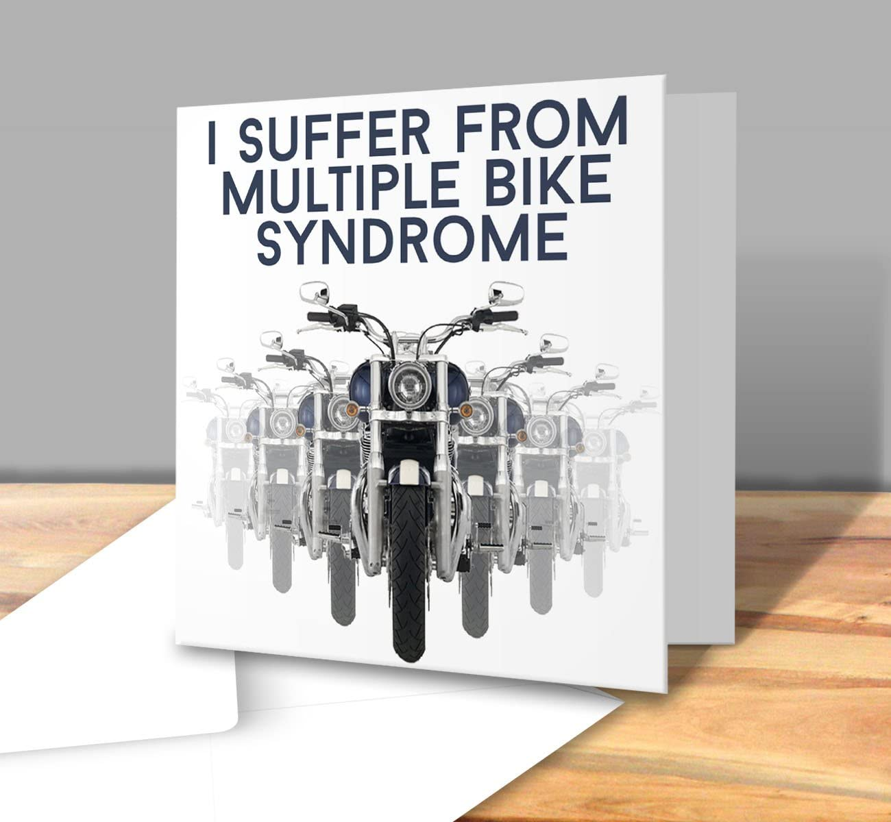 I Suffer from MBS Multiple Bike Syndrome Square Greeting Card