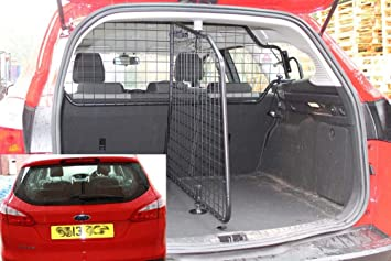Guardsman Dog Guard And Boot Divider For Ford Focus Estate Mark 3