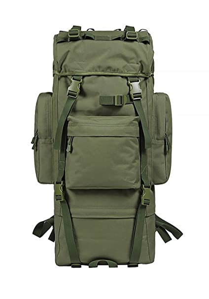 10ab875bf0 MaxMiles Extra Large Camo Backpack High Capacity 6100 Cubic Inches 100L Internal  Frame Backpack Desert Camo