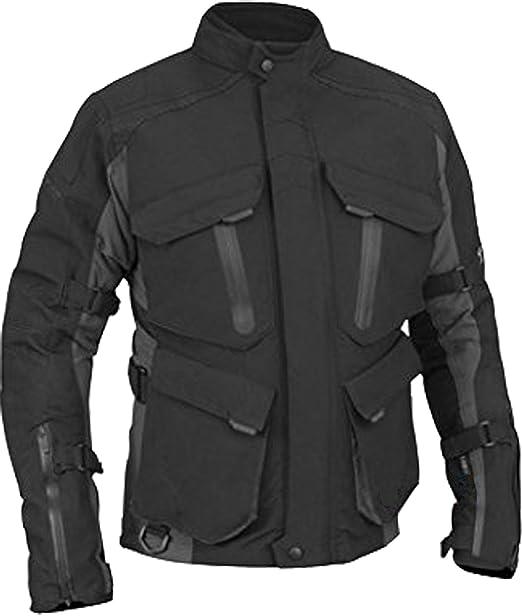 20503fbcb01 Juicy Trendz De Los Hombres Moto Textil Impermeable Motorista Cordura  Chaqueta con Protector Armadura: Amazon.es: Ropa y accesorios