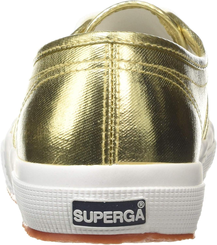 Superga 2750-cotmetu, Baskets Basses Mixte Jaune Gold 174