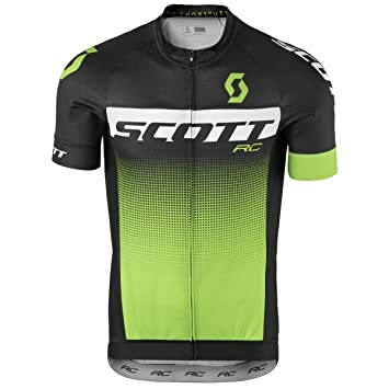 Scott RC Pro Cycling Jersey Black Green 2017  Amazon.co.uk  Sports ... c92a51299
