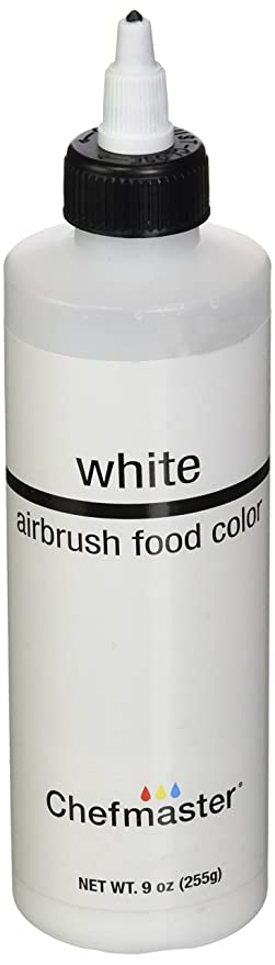 Amazon.com: Chefmaster Airbrush Spray Food Color, 9-Ounce, White ...
