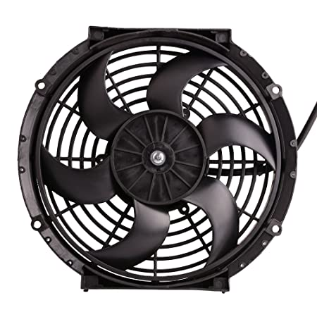 Amazon Com 10 12v Universal Electric Radiator Cooling Fan Push