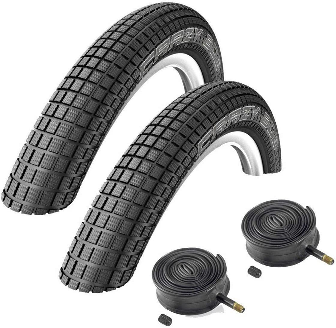 """Details about  /8pcs 20/"""" inch Bike Inner Tube 20 x 1.75-2.125 Bicycle Rubber Tire Interior"""