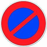 Chapuis DS22 Disque pvc adhésif D 280 mm Stationnement interdit