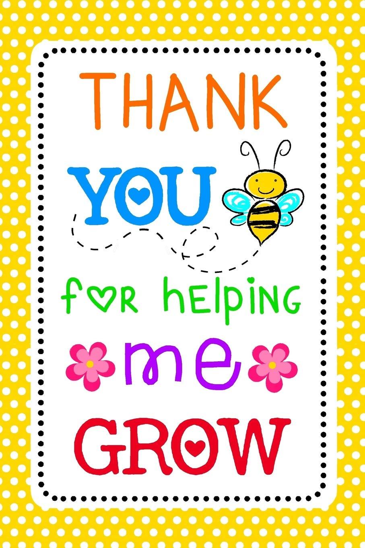 present for teacher teacher appreciation gifts christmas gift for teacher thank you gift teacher Thank you for helping us grow