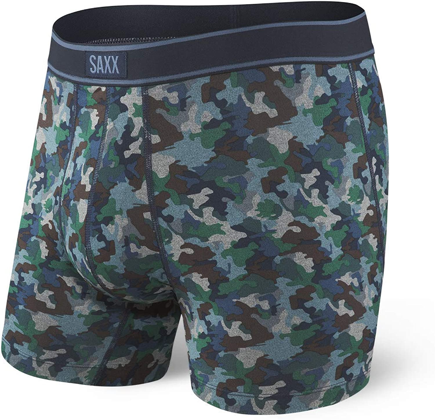 Saxx Underwear Men's Boxer Briefs - Daytripper Boxer Briefs with Built-in Ballpark Pouch Support