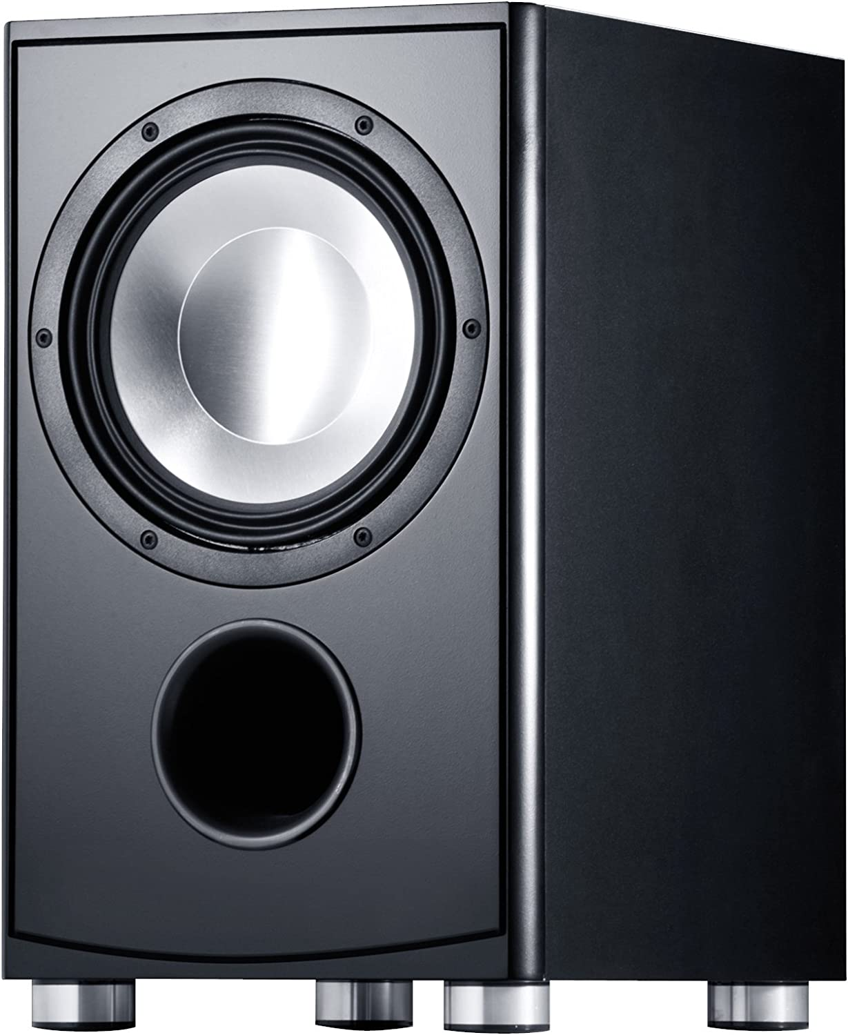 Canton As 85 2 Sc Aktiver Subwoofer 200 250 Watt Schwarz Audio Hifi