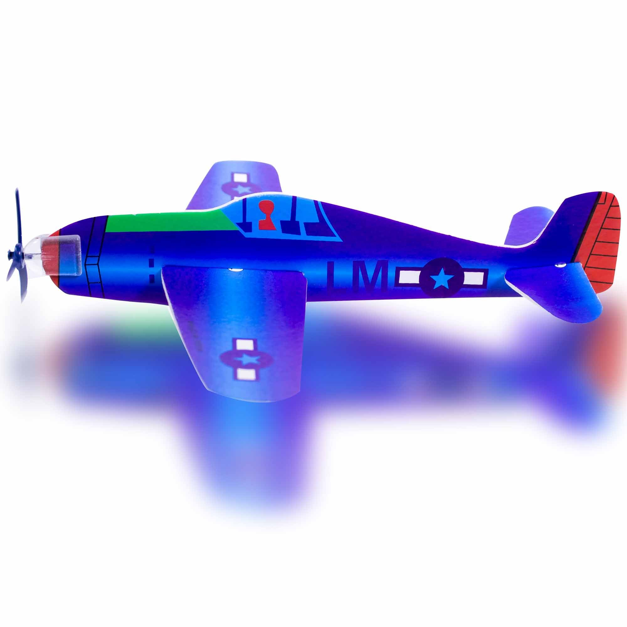 Windy City Novelties Flying Airplane Toy for kids - Outdoor Glider Plane Indoor / Outdoor Game (Set of 48)