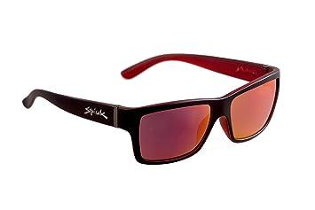 Spiuk Halley - Gafas Unisex, Color Negro/Rojo: Amazon.es ...