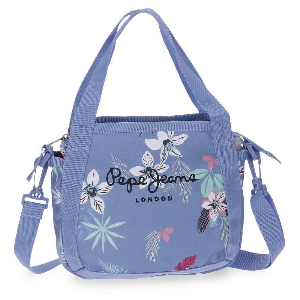 Pepe Jeans Mireia Borsa Messenger, 21 cm, 2.52 liters, Blu (Azul) 6525651
