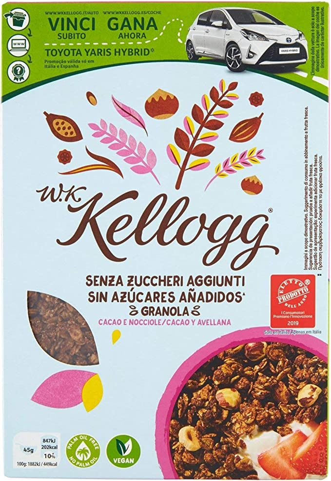 Kellogg S Mix Di Agglomerati Di Cereali 300g Amazon It Alimentari E Cura Della Casa