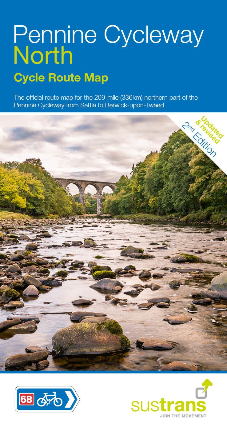 Read Online Pennine Cycleway North: Sustrans Cycle Map PDF