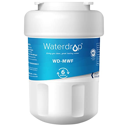 Waterdrop WD-MWF reemplazo del filtro de agua del refrigerador para GE SmartWater MWF,