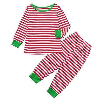 Niños Bebé Niño Camiseta Pantalones Familia Pijamas Ropa De ...