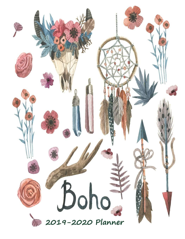 Boho 2019- 2020 Planner: Amazon.es: SL leelawadee: Libros en ...