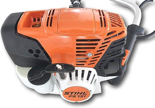 Stihl FS 131 - Desbrozadora (1,4 kW/1,9 CV, motor de 4 mezclas con mango doble): Amazon.es: Bricolaje y herramientas