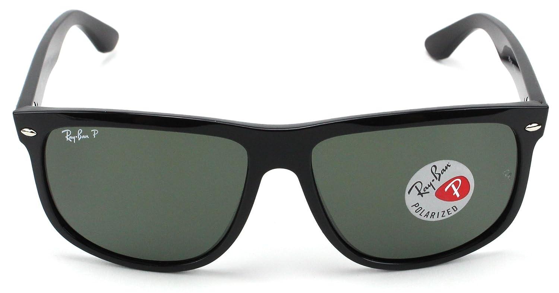 2bbc9aec79 Amazon.com  Ray-Ban RB4147 Polarized Square Unisex Sunglasses Black 601 58  - 60mm  Clothing