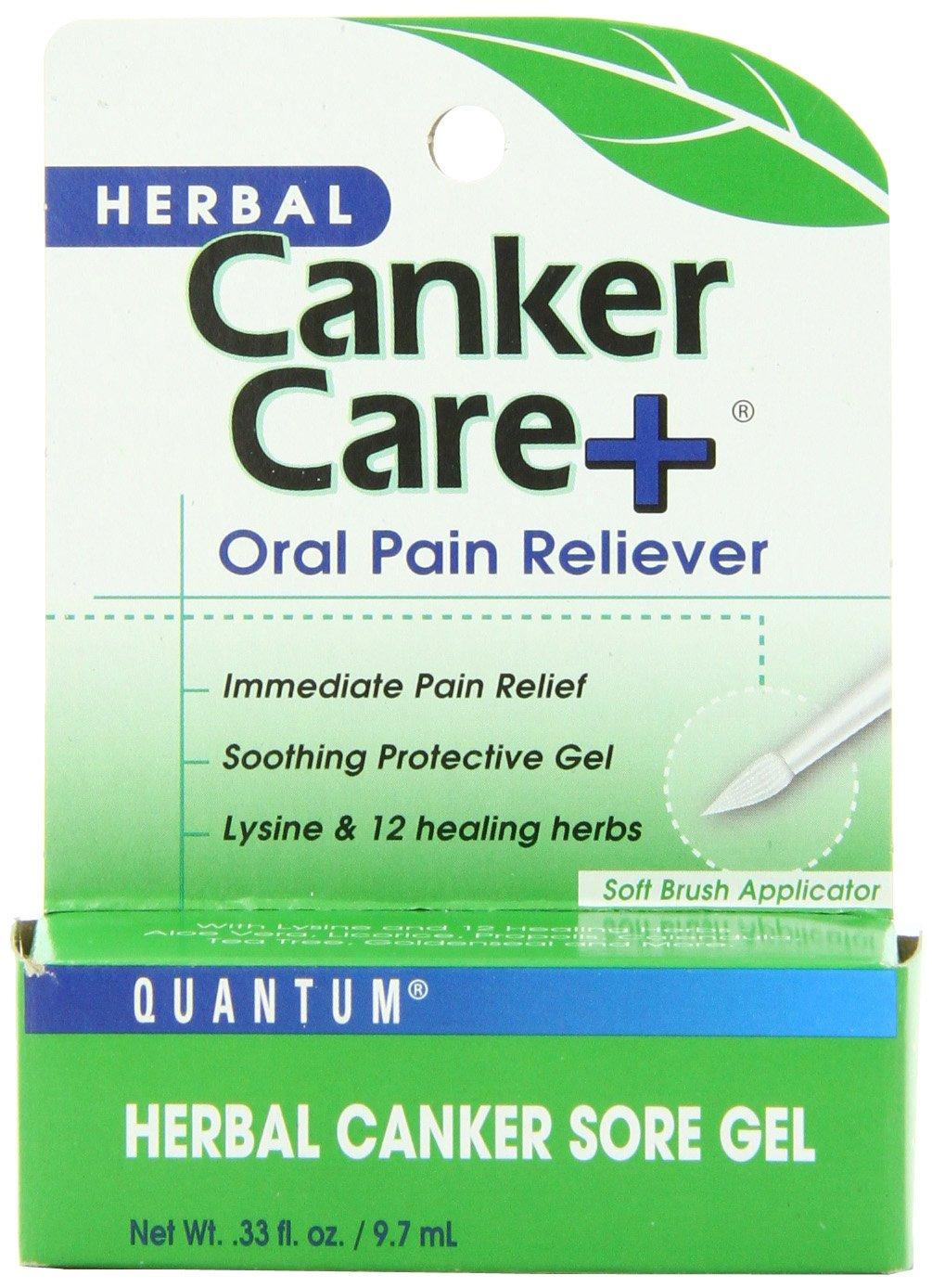Quantum Canker Care Plus Gel - 0.33 oz 046985017862