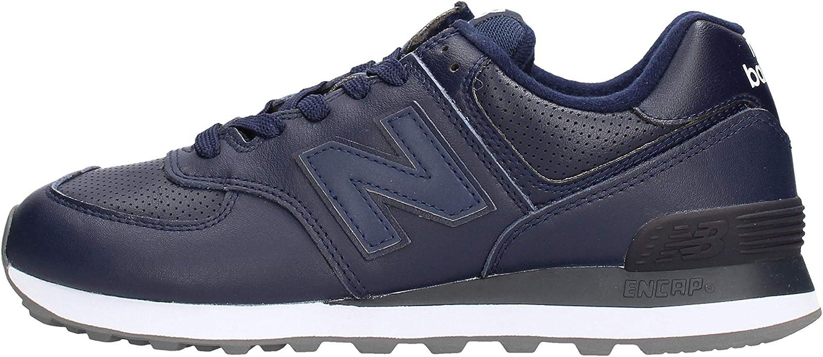 New Balance 574v2 Sneakers Herren Blau (Navy/White)