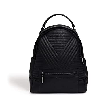 d2a151b2a0de0 Amazon.com: LaBante -Camberwell- Vegan Leather Backpack for women - black backpack  cute backpacks for girls work bag fashion backpack small backpack for ...