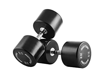 BT BODYTONE Mancuernas de Goma/Rubber Dumbbells 35 kg (par/Pair): Amazon.es: Deportes y aire libre