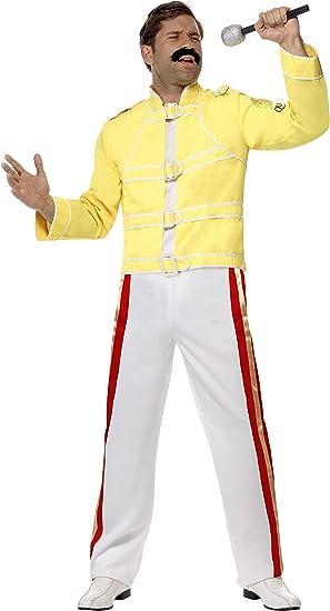 Smiffys- Queen License Dress-up Disfraz de la Reina Freddie ...