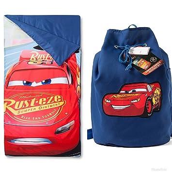 Disney Cars niños saco de dormir y Sling Set