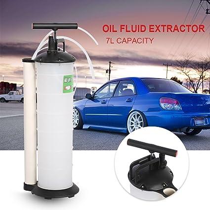 Yosoo - Bomba de extracción de aceite manual, herramienta para recambio del líquido de frenos