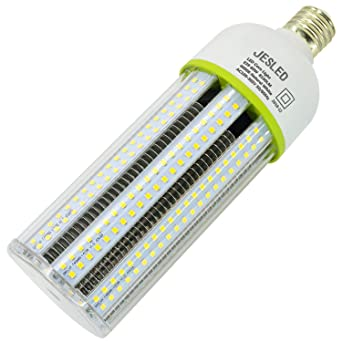60W LED Corn light bulb street area shoebox parking lot light E39 mogul 8100Lm