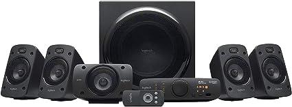 Logitech Z906 5.1 Sistema de Altavoces Sonido Envolvente THX, Certificado Dolby&DTS, 1000 W de Pico, Multi-Dispositivos, Entradas Audio Múltiples, Enchufe UK, PC/PS4/Xbox/TV/Móvil/Tablet: Amazon.es: Electrónica