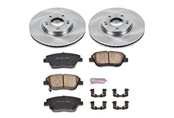 Autospecialty KOE5381 1-Click OE Replacement Brake Kit
