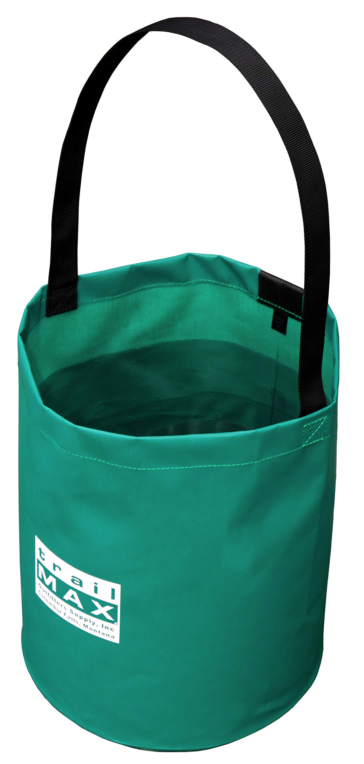 Outfitters Supply 3-Gallon Collapsible Water Bucket, Constructed From Tough Vinyl-Coated Nylon To Eliminate Tears And Leaks, Lightweight And Pack-able, Ideal For Horse And Mule Packing And Camping by Outfitters Supply