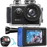 AKASO Brave 6 Plus Native 4K30FPS 20MP WiFi Action Camera with Touch Screen EIS 8X Zoom Voice Control Remote Control 131…